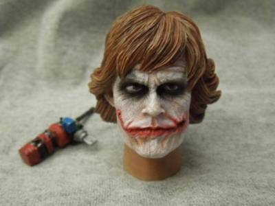 custom NURSE Joker batman The Dark Knight  1/6 figure head PVC fit hot toys body - Joker Nurse