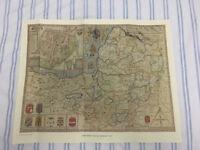 John Speeds Map Of Somerset 1610 Heritage Publishing