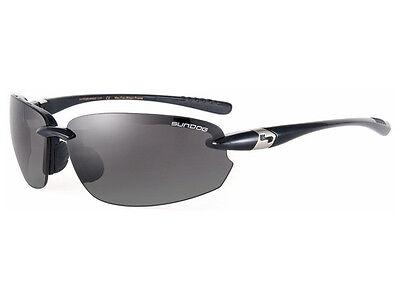 Sundog 42030 LASER Golf and sports Mela Lens Sunglasses - Black/Smoke