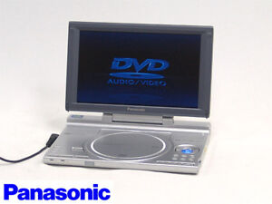 Panasonic DVD-LX8 Portable DVD-Player with 9-inch LCD