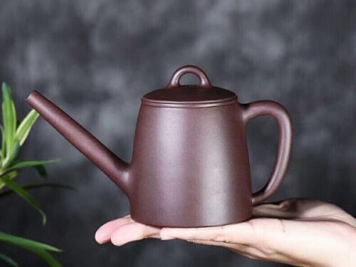 """China Yixing ZiSha Pottery Handmade 220cc """"Chadao"""" Teapot Marked"""
