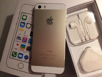 iPhone 5s 16gb gold ( o2 giff gaff )