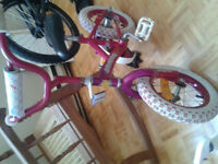 "12"" girls bikes for sale Barbie and Dora the explorer"