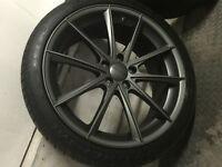 brealin wheels with continental extreme contact tires. 255/35/20