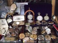 Wanted gold silver coins watches medals steam train boats antiques collectables