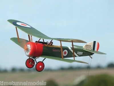 Firelands Ares Micro SOPWITH PUP 2.4GHZ (Hitec Red M2) RC Plane: Ready To Fly