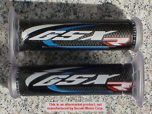 Suzuki GSX250R GSXR 600 750 1000 GSXR600 GSXR750 GSXR1000 BLUE LOGO HAND GRIPS