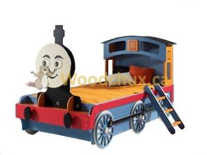 THOMAS the TRAIN - Twin Size Bed .,.,. ♥‿♥