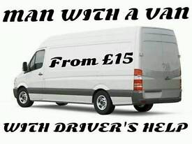 MAN WITH A VAN / PICK UP / DELIVERY / REMOVAL & HIRE SERVICES