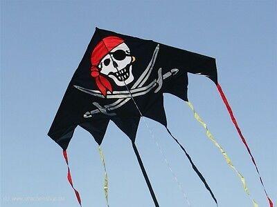 DELTA JOLLY ROGER - Pirat  (90082) v. Invento, single line Drachen, pirate Kite