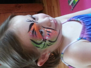 Professional face painter available for hire Kingston Kingston Area image 3