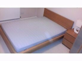 ***MUST GO*** Ikea Malm double bed with mattress