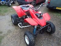 Honda TRX 400 EX Quad Bike race off road farm track