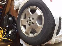 MotoMaster Radial All-Season Tires On Rims 215/65 R16 98T