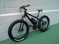 ON SALE eRanger Electric MID DRIVE fat bike 48v 1000w 750w