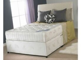 Brand New Divans Double (Single + King Size) Beds & Mattresses Delivered Within 24 to 48 Hours