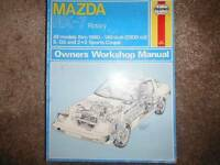 Mazda RX-7 1979 & 1980 Repair Service  Manual