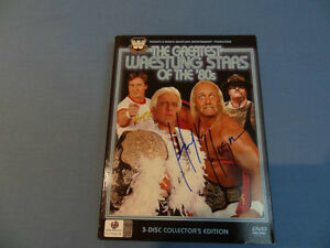 "HULK HOGAN signed CD set ""Greatest Wrestling Stars of the 80's"""