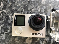 GoPro Hero 4 black and LCD touch backpack