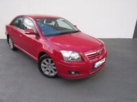 2007 TOYOTA AVENSIS 1.8 VVTi RED MANUAL BREAKING FOR PARTS