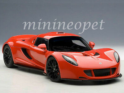 Autoart 75403 Hennessey Venom Gt Spyder 1 18 Diecast Model Car Red