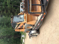 CASE bobcat with only 400 hours on it