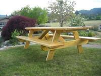 SOLID PICNIC TABLES