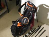 ### Golf Club Set With Bag & Trolley ###