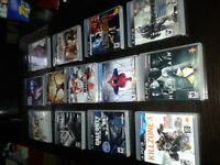 Selling my ps3 video game collection like brand new 60 dollars