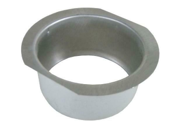 "2 3/4"" Round Aluminum Gutter Downspout Outlet"