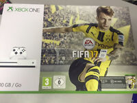 Xbox one s brand new 500gb with Fifa 17