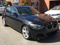 BMW 1 SERIES 118D M SPORT (black) 2014