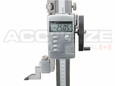 0-24 X 0.0005 Electric Digital Height Gage With Hand Wheel 0103-0606