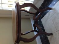 OVAL ANTIQUE TABLE
