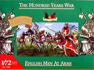 Accurate Figures 7206 the Hundred Years Guerra English Men at Arms 1:72