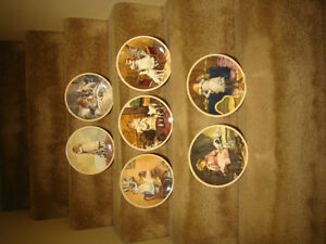 Collector Plates - Victorian Childhood
