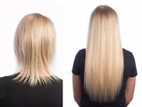 Hair Extensions in a beautiful new salon on Shirley High street HALF PRICE till the end of August!