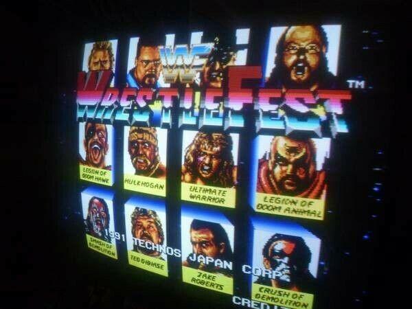 WWF Wrestlefest arcade jamma pcb
