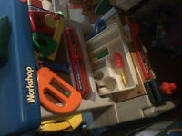 Little Tyke Toys Workshop, Kitchen, Jungle Gym and Double Easle