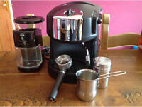 Briel Arteme Coffee machine with Russell Hobbs coffee grinder