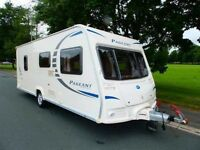 2010 BAILEY PAGEANT Sancerre Series 7 Touring Caravan & Full Awning