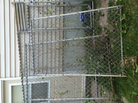 Eastern fence 3 piece dog kennel, great shape..