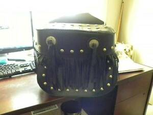 HARLEY DAVIDSON CUSTOM MADE SADDLE BAGS