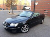 Saab 9-3 Vector 1.9 TDI Diesel Convertible 6speed manual Full history 1year MOT Full Leather