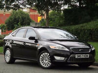 2007 57 FORD MONDEO TITANIUM X 1.8 TDCI 125 BLACK MOT 08/17(CHEAPER PART EX WELCOME)