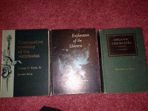 Vintage texbooks