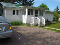*** TWO BEDROOM HOUSE FOR RENT IN DOWNTOWN SHEDIAC ***
