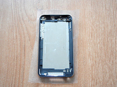 Metall zurück Fall Housing Cover Schwarz Lünette für iPod Touch 4th 8GB ()