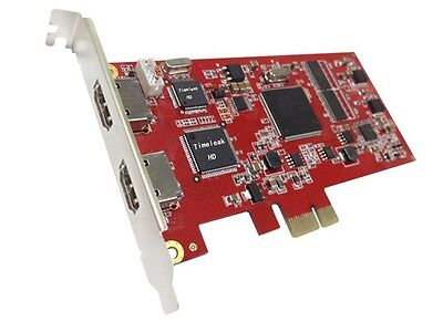 PCIE HDMI 720p/1080i video capture card with HDMI pass-throu