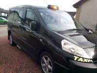 Glasgow Licensed Taxi Business c/w Glasgow plate